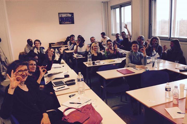 """Les étudiants du Diplôme Universitaire """"Entrepreneur Social"""" de l'université Paris-Dauphine"""