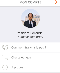 Hollande Entourage La France SEngage SDF