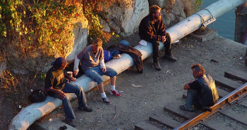 squat hommes sans abris