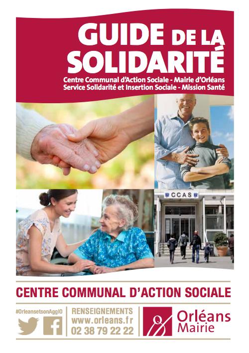 guide de solidarité orléans mairie sdf ccas