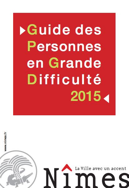 guide des personnes en grande difficulté Nîmes 2015 sdf